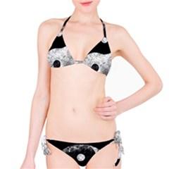 Grunge Yin Yang Bikini Set