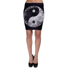 Grunge Yin Yang Bodycon Skirt