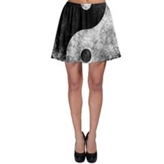Grunge Yin Yang Skater Skirt