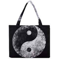 Grunge Yin Yang Mini Tote Bag