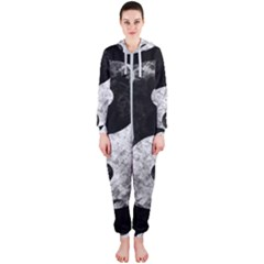 Grunge Yin Yang Hooded Jumpsuit (ladies)