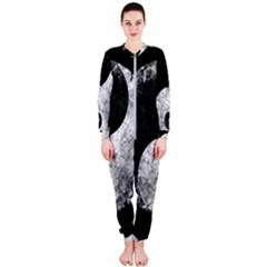 Grunge Yin Yang Onepiece Jumpsuit (ladies)