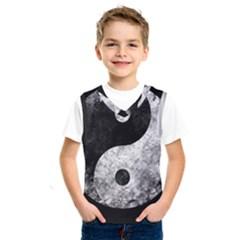 Grunge Yin Yang Kids  Sportswear