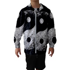 Grunge Yin Yang Hooded Wind Breaker (kids)