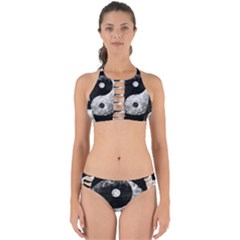 Grunge Yin Yang Perfectly Cut Out Bikini Set