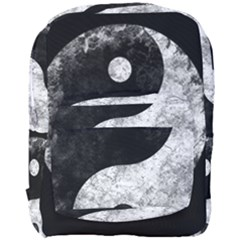Grunge Yin Yang Full Print Backpack