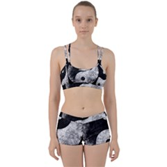 Grunge Yin Yang Women s Sports Set