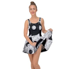 Grunge Yin Yang Inside Out Dress
