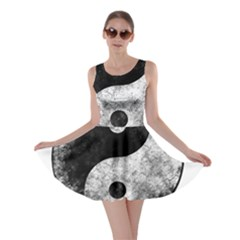 Grunge Yin Yang Skater Dress