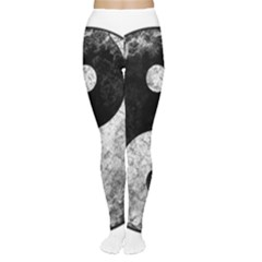 Grunge Yin Yang Women s Tights