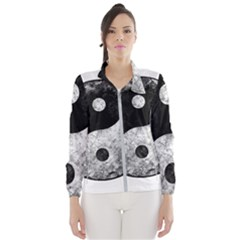 Grunge Yin Yang Wind Breaker (women)