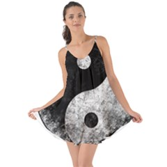 Grunge Yin Yang Love The Sun Cover Up