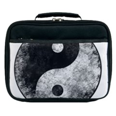 Grunge Yin Yang Lunch Bag