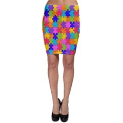 Colorful 10 Bodycon Skirt