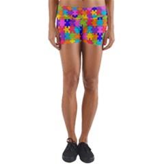 Colorful 10 Yoga Shorts