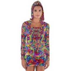 Colorful 12 Long Sleeve Hooded T Shirt