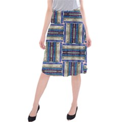 Square 2 Midi Beach Skirt