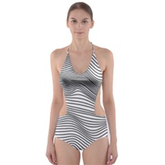 Soundlines Cut Out One Piece Swimsuit