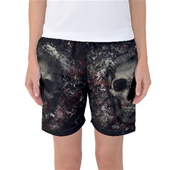Skull Women s Basketball Shorts
