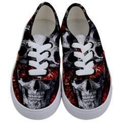 Skull Kids  Classic Low Top Sneakers