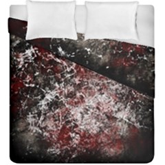 Grunge Pattern Duvet Cover Double Side (king Size)