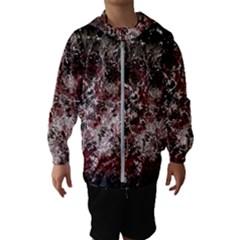 Grunge Pattern Hooded Wind Breaker (kids)