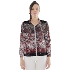 Grunge Pattern Wind Breaker (women)
