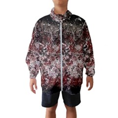 Grunge Pattern Wind Breaker (kids)