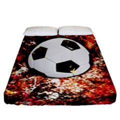 Football  Fitted Sheet (queen Size)