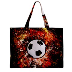 Football  Zipper Mini Tote Bag