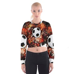Football  Cropped Sweatshirt