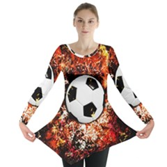 Football  Long Sleeve Tunic