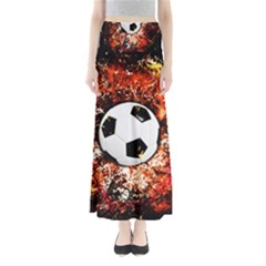 Football  Full Length Maxi Skirt