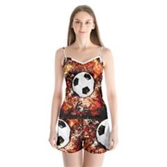 Football  Satin Pajamas Set