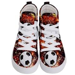 Football  Kid s Hi Top Skate Sneakers