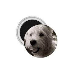 Westie.puppy Small Magnet (Round)