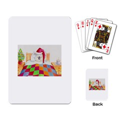 Santa In Bed  Standard Playing Cards