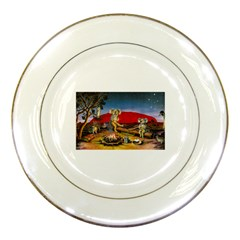 Uluru  Porcelain Display Plate