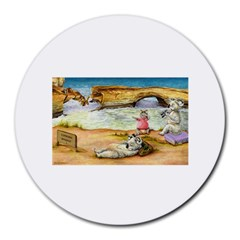 London Bridge  8  Mouse Pad (round)