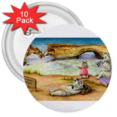 London Bridge  10 Pack Large Button (Round)