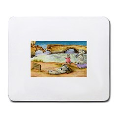 London Bridge  Large Mouse Pad (Rectangle)