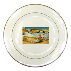London Bridge Jpg Porcelain Display Plate