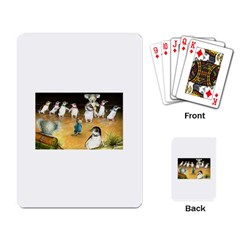 Penguin Parade  Standard Playing Cards