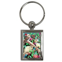 Christmas Kooka Twins  Key Chain (Rectangle)