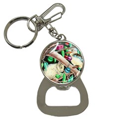 Christmas Kooka Twins  Key Chain with Bottle Opener