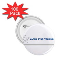Alpha Star 100 Pack Small Button (Round)