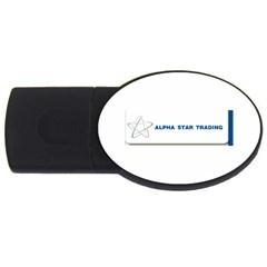 Alpha Star 1Gb USB Flash Drive (Oval)