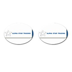 Alpha Star Oval Cuff Links