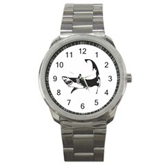 The Cape Cod Shark Stainless Steel Sports Watch (Round)