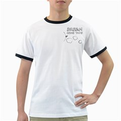 Dream Come True - Money White Ringer Mens'' T-shirt
